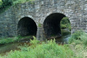 The Stone Bridge, of 'The Stone Bridge Trail' fame...